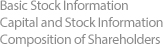Basic Stock Information Capital and Stock Information Composition of Shareholders